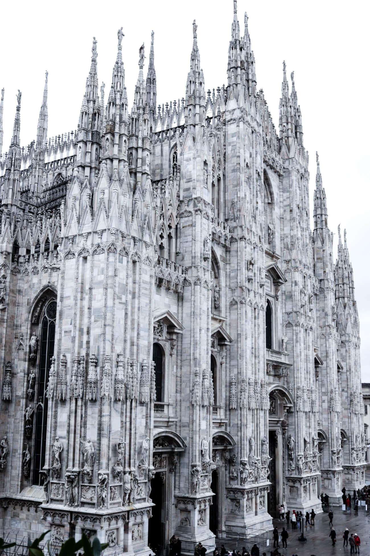 Wie nach Mailand?