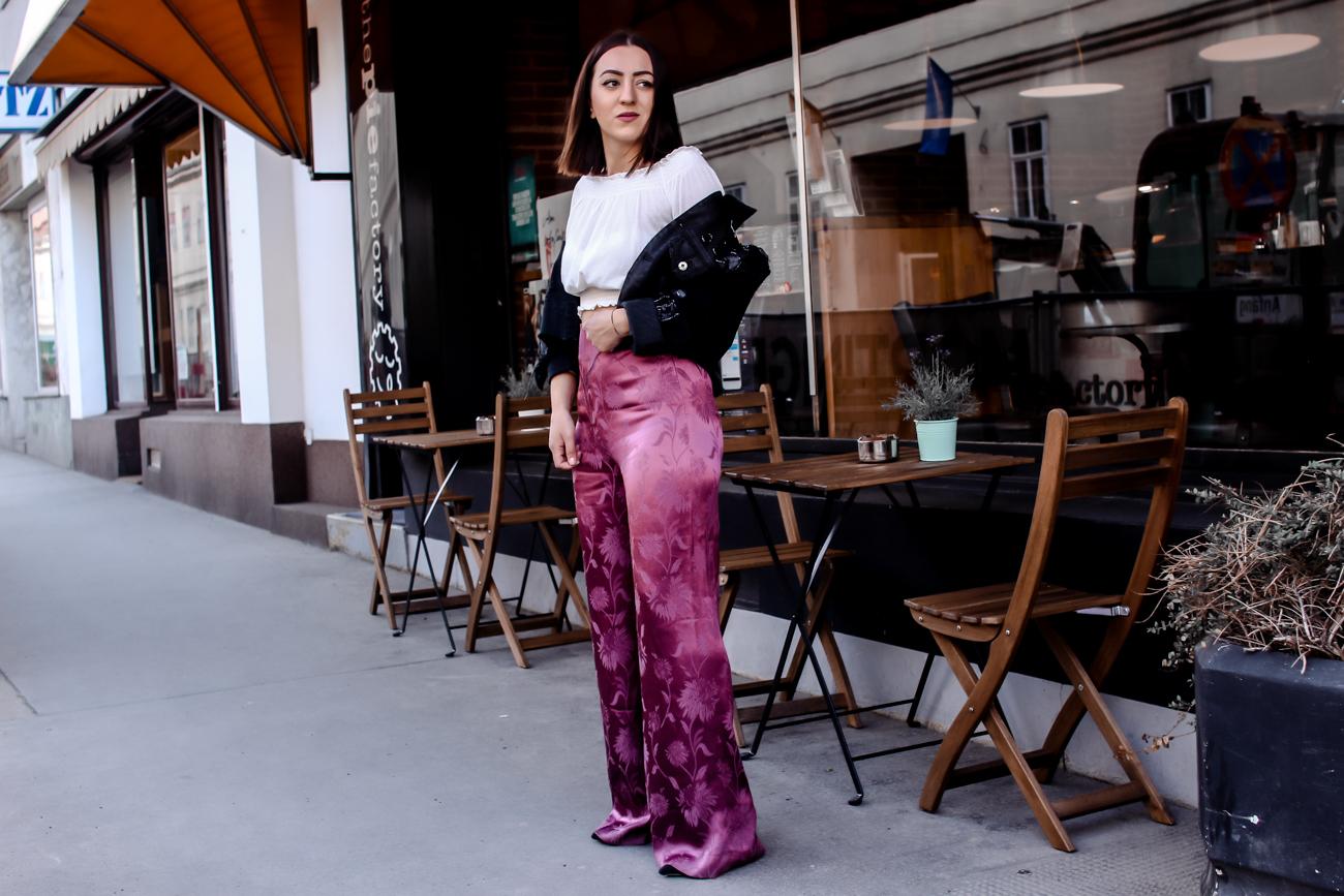Trend garment 2018: satin