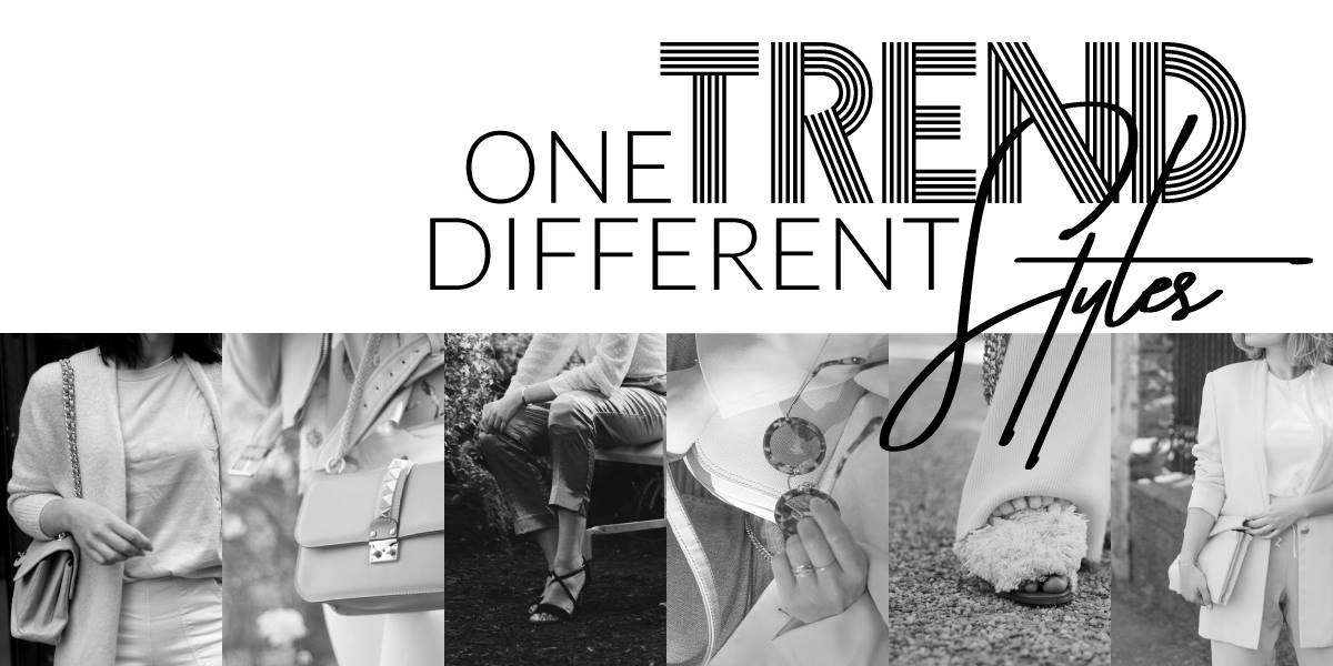 One trend different styles