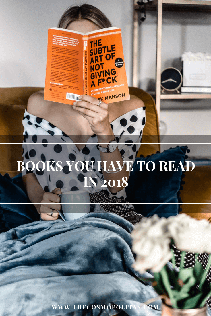 Books you need to read in 2018