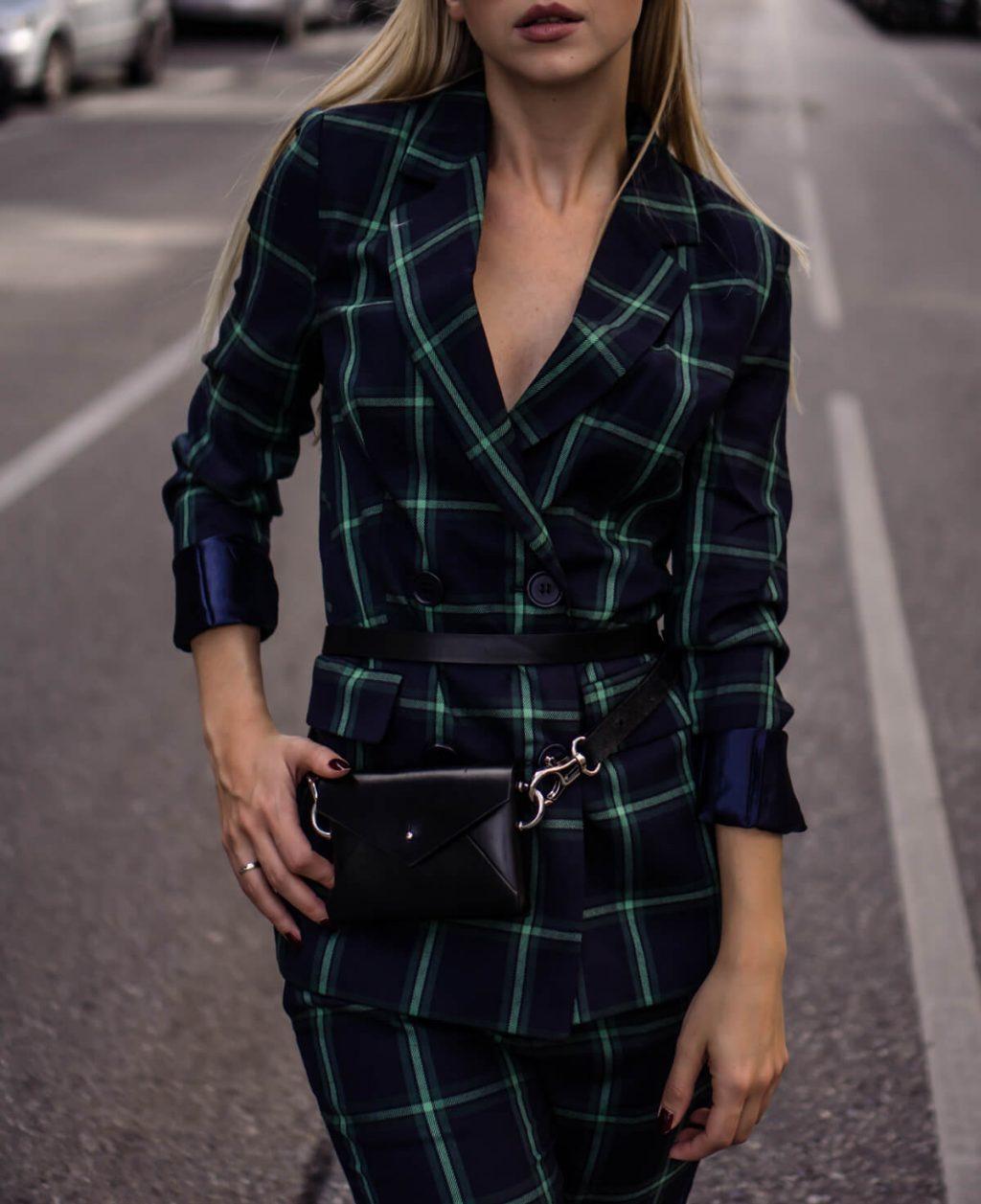 How to wear: checks head to toe