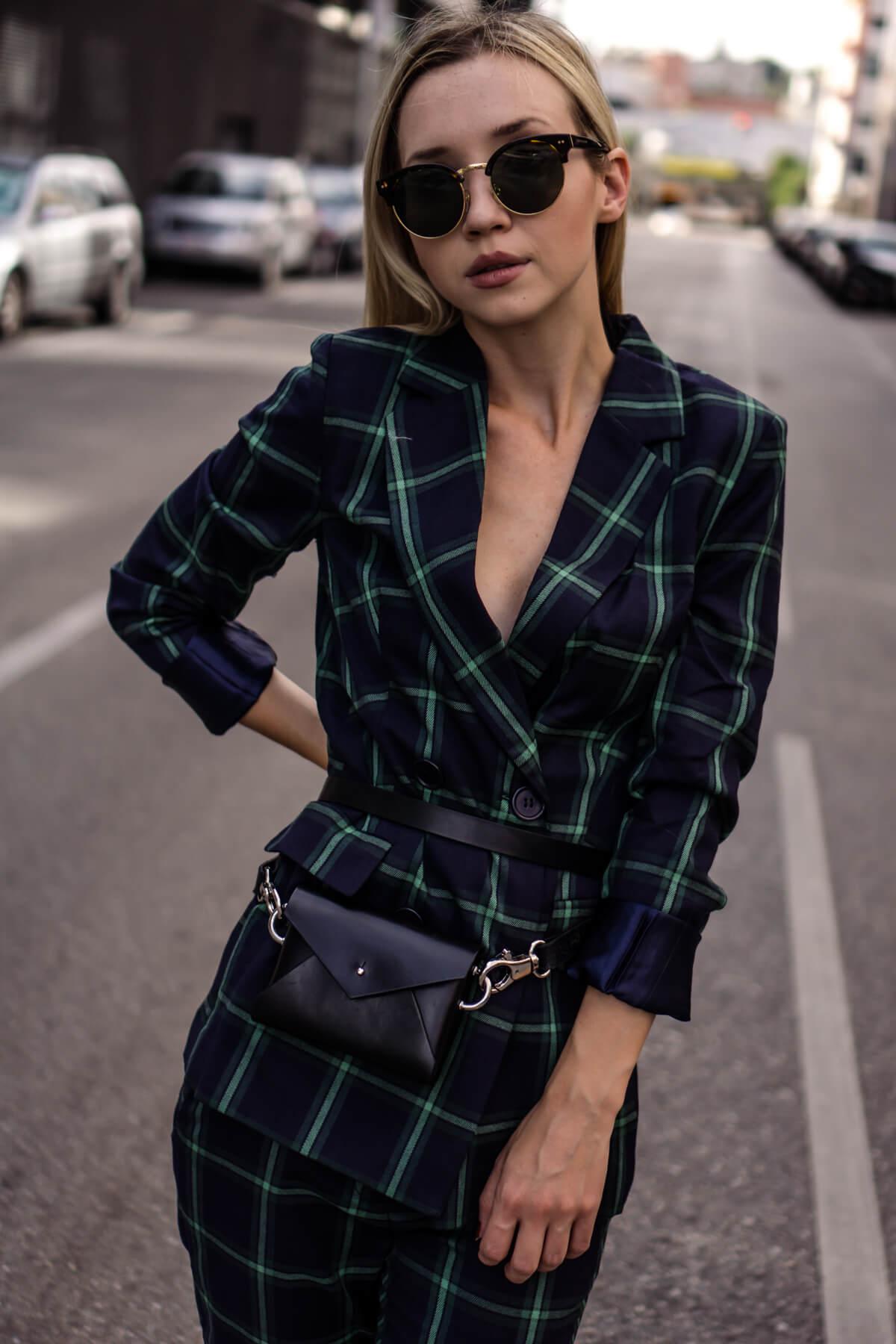 Modetrends Herbst 2018: Karotrend richtig kombinieren