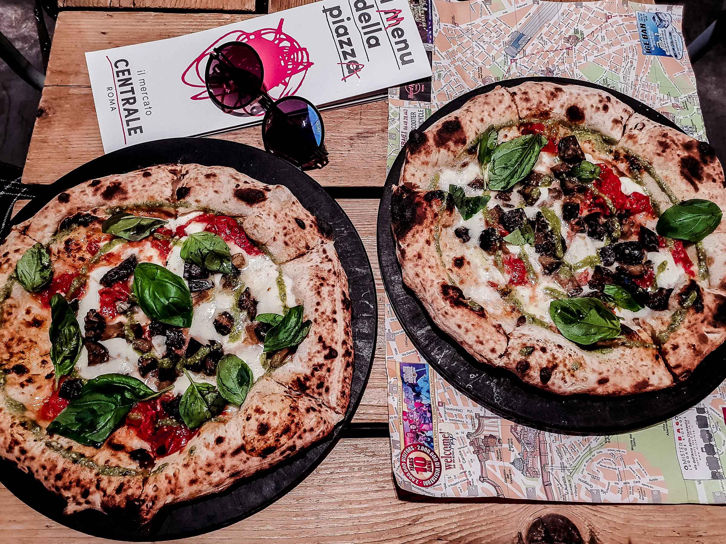 Markthalle Termini beste Pizza in Rom