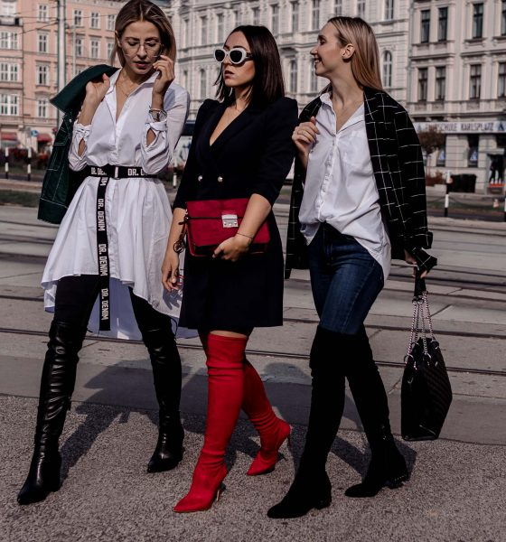 3 WAYS TO STYLE OVER-THE-KNEE BOOTS