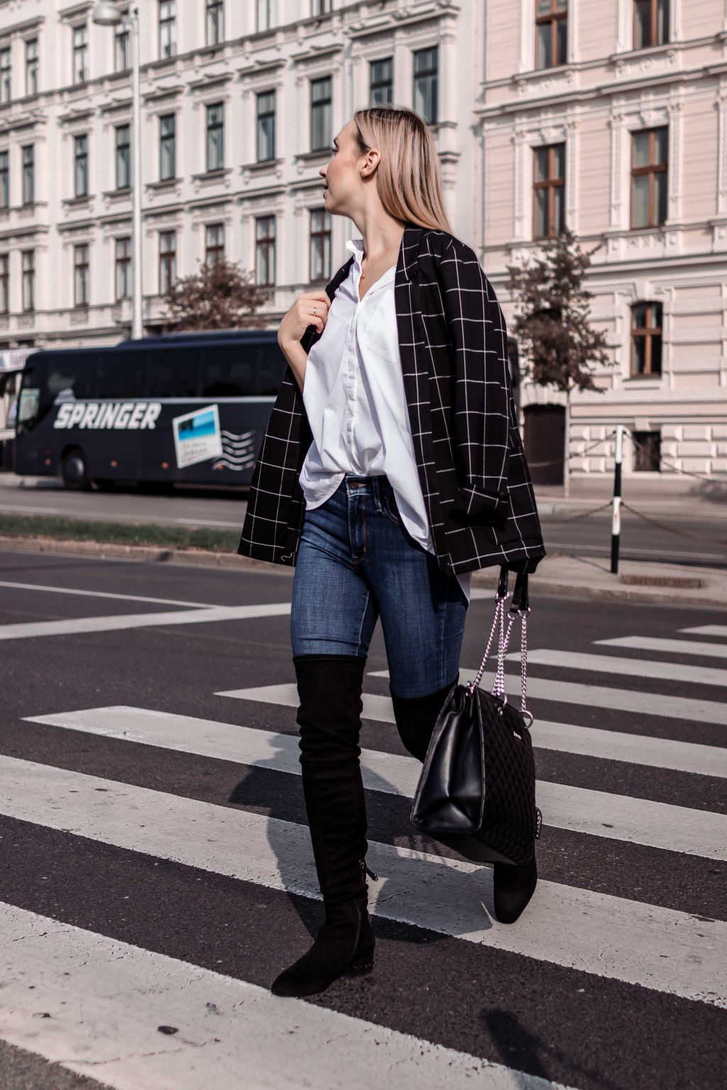 Over the knee boots casual way to style