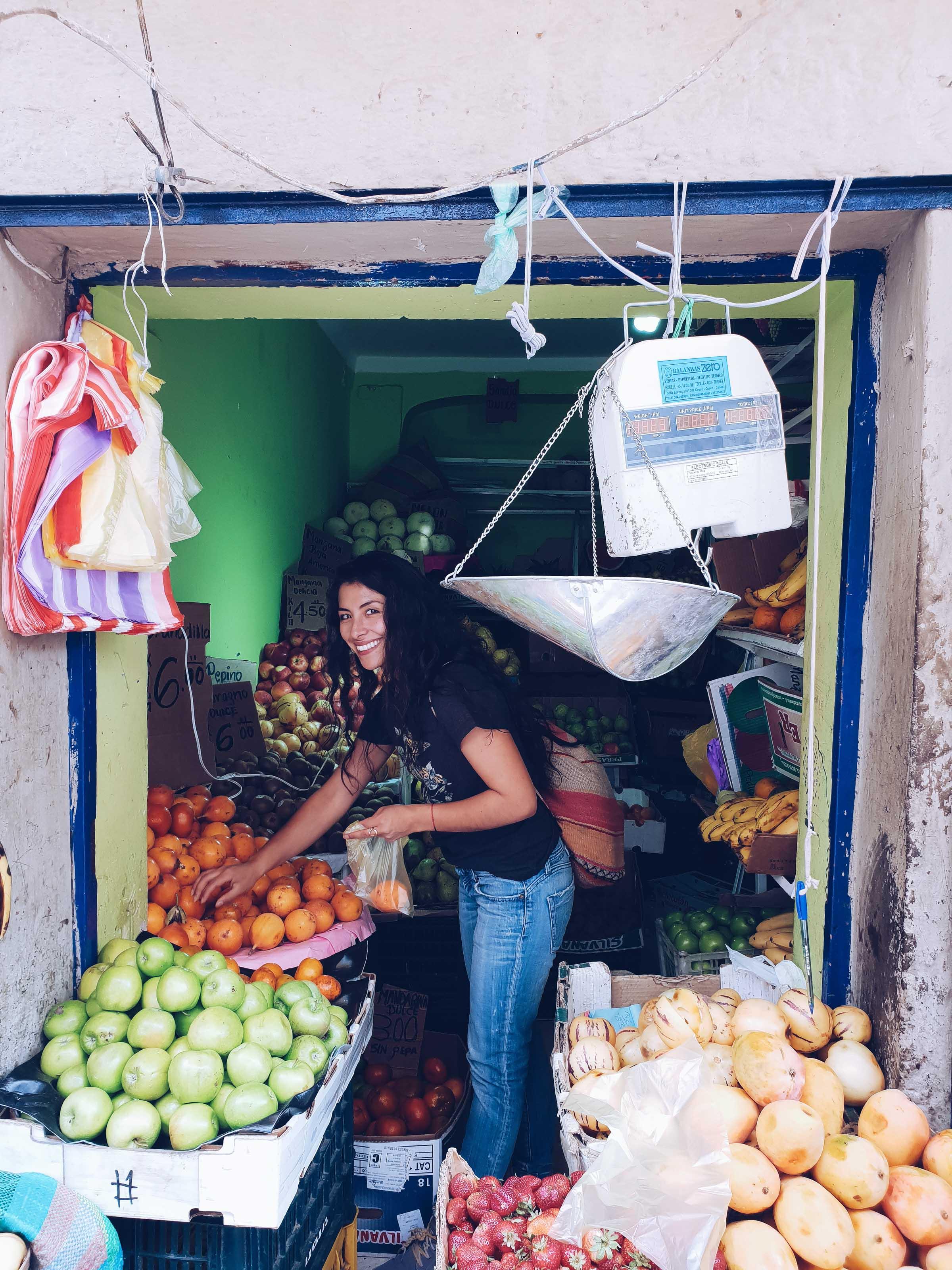 Mercado San Pedro Cusco Peru