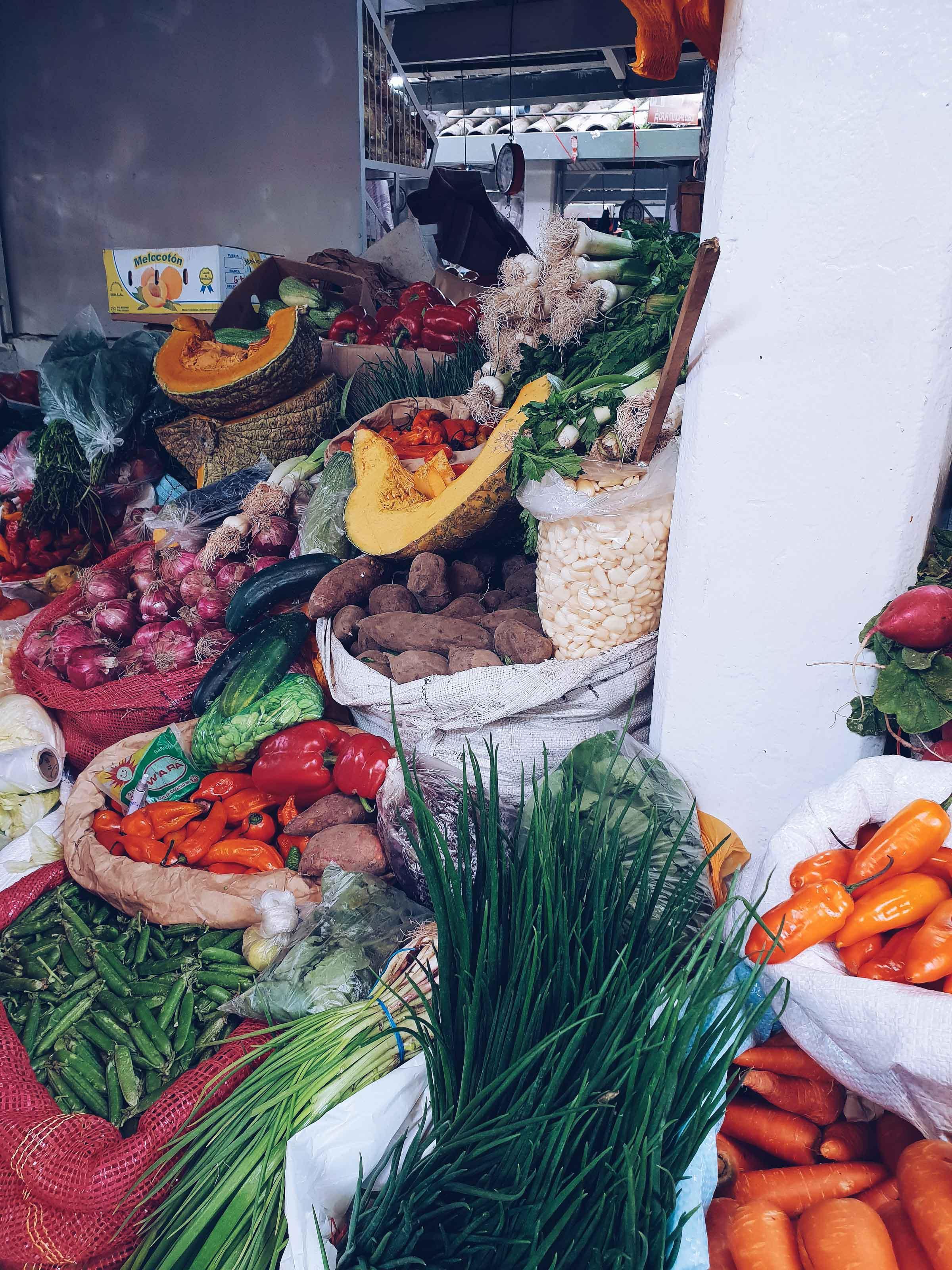 Best markets in Cusco Peru