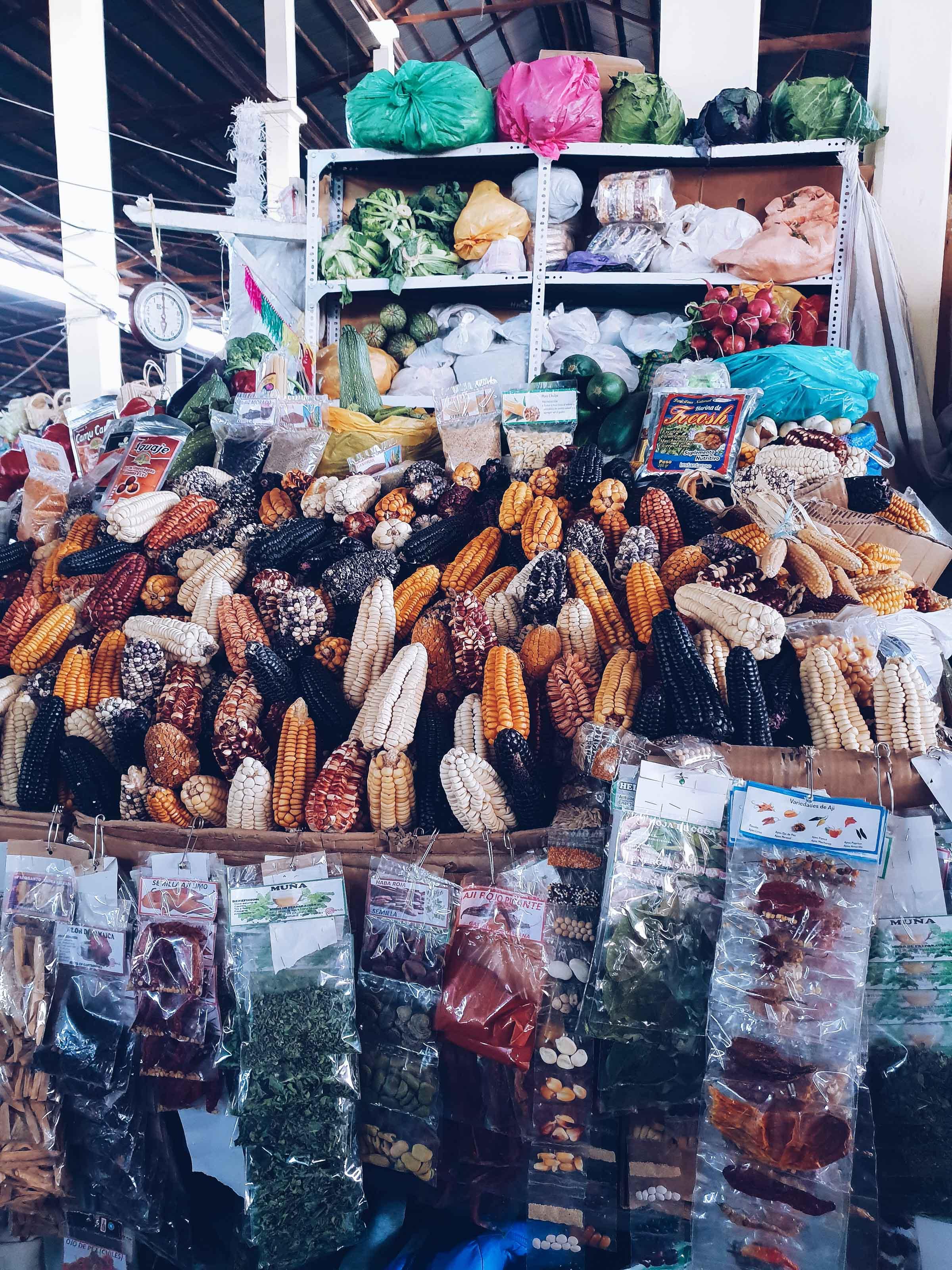 Market San Pedro in Cusco