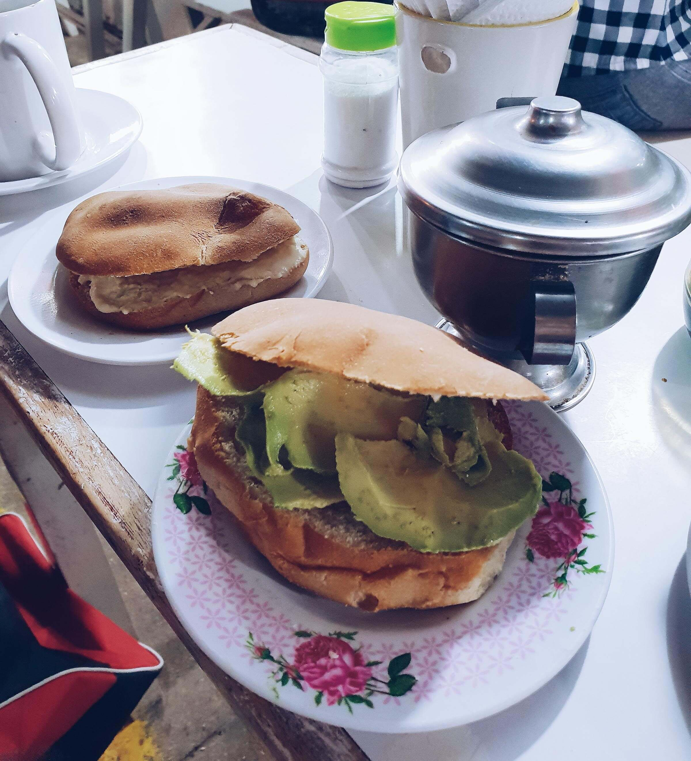 Frühstücken in Cusco Peru