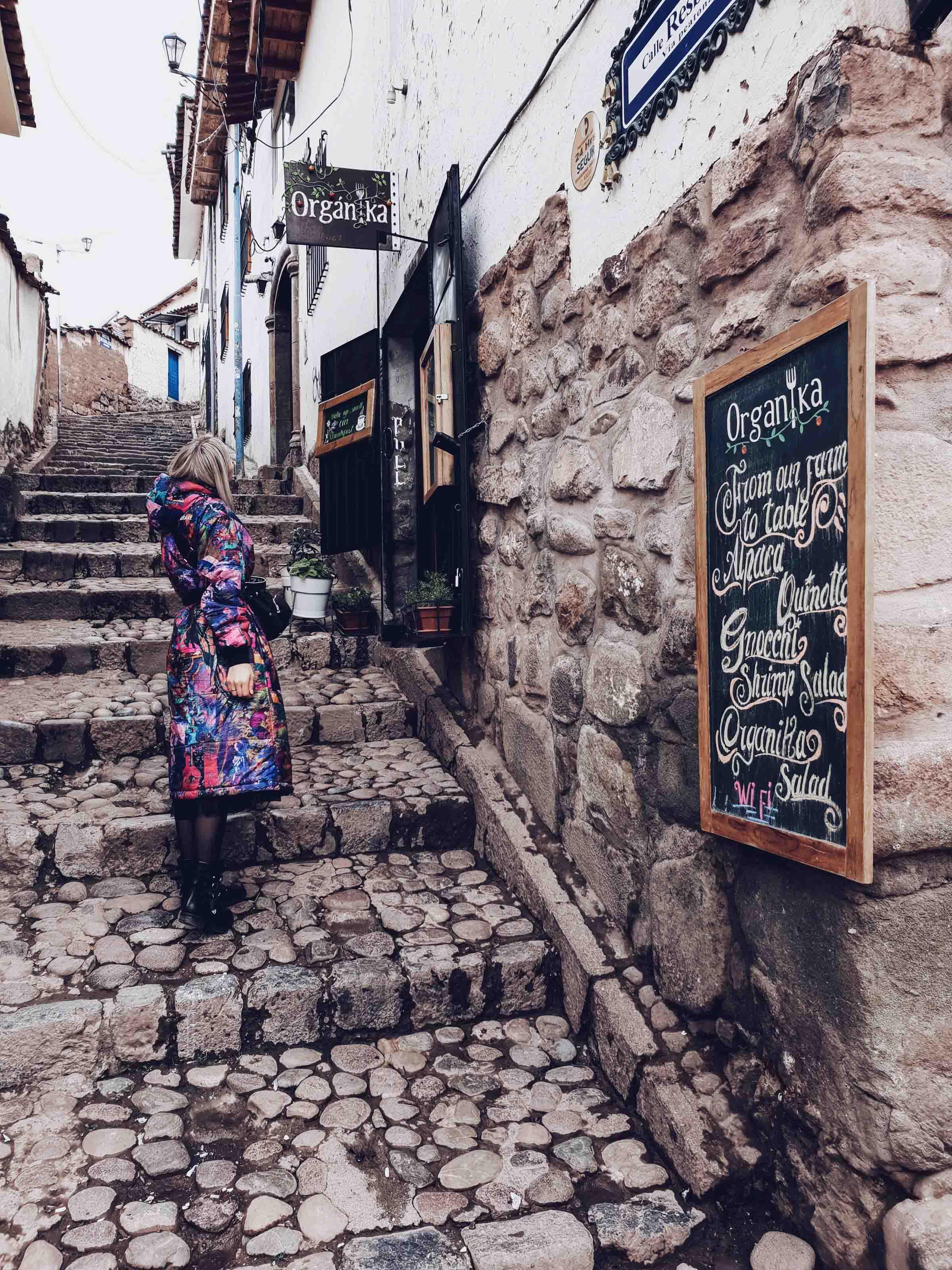 Eine Woche in Cusco Peru