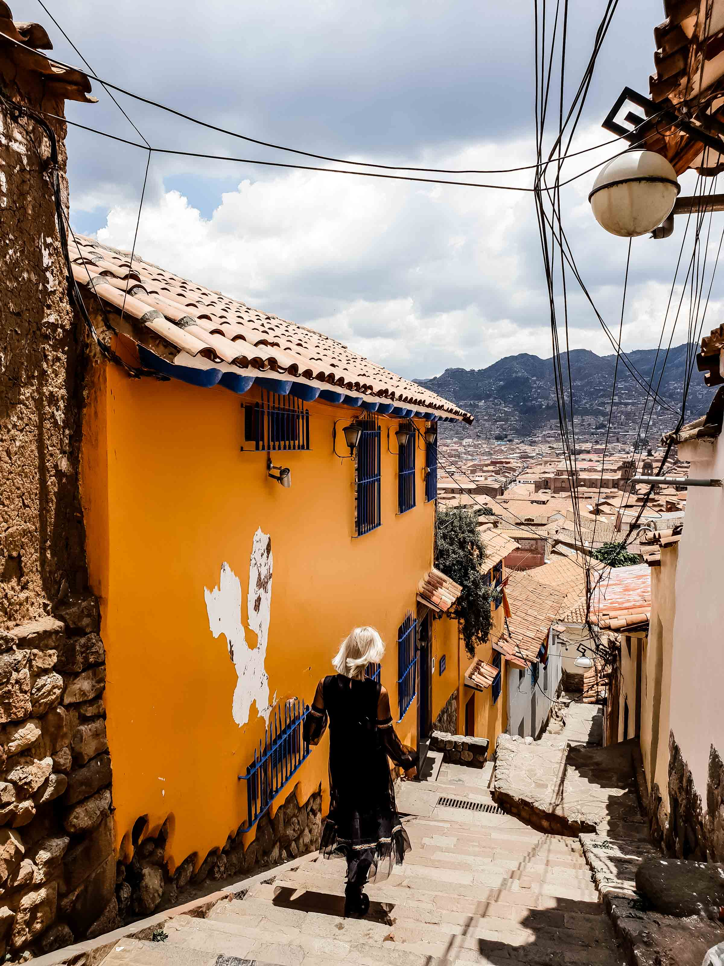 Barrio de San Bas Spaziergang