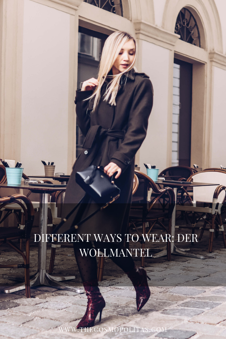 DIFFERENT WAYS TO WEAR: DER WOLLMANTEL