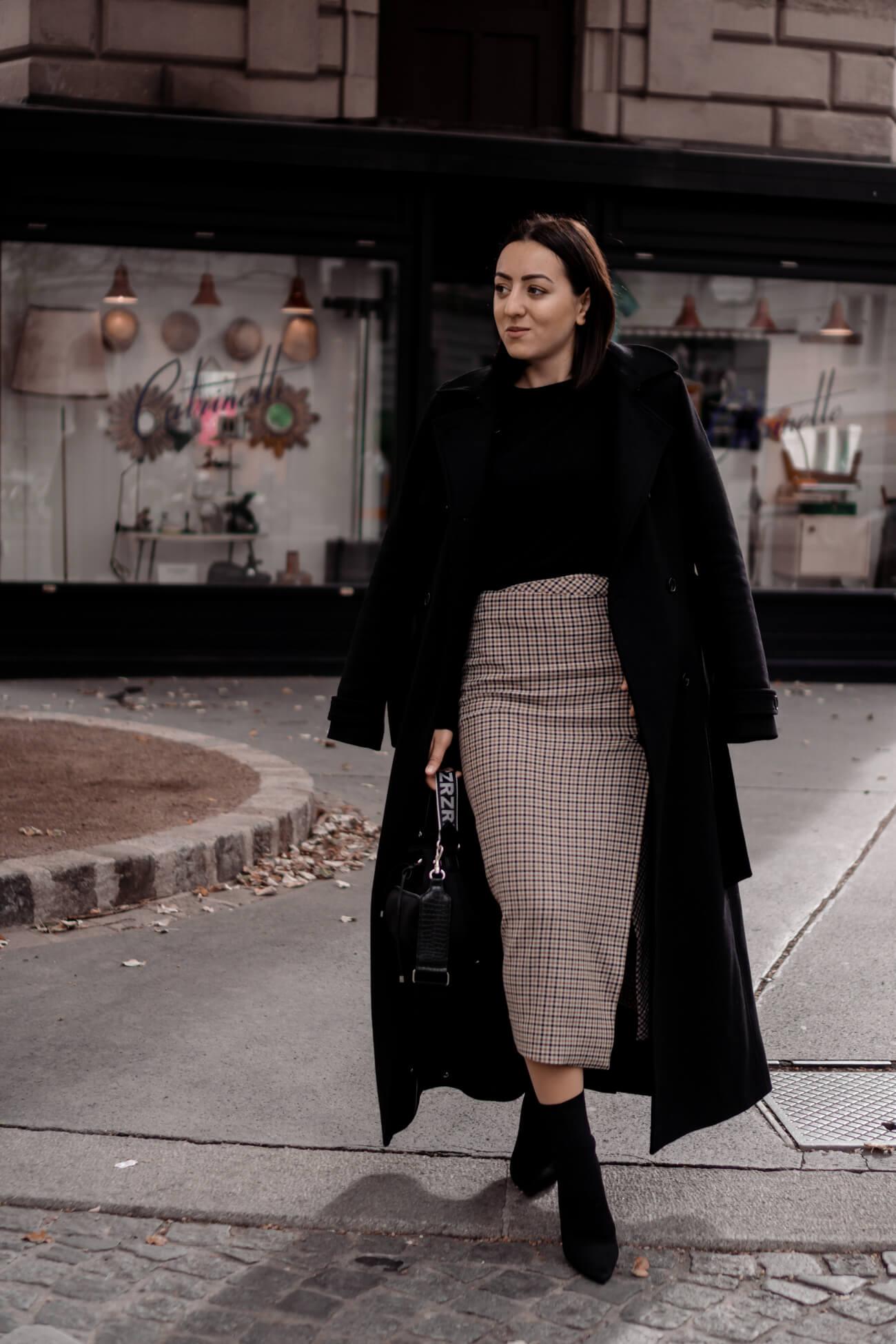 Wie trägt man den Mantel-Klassiker?