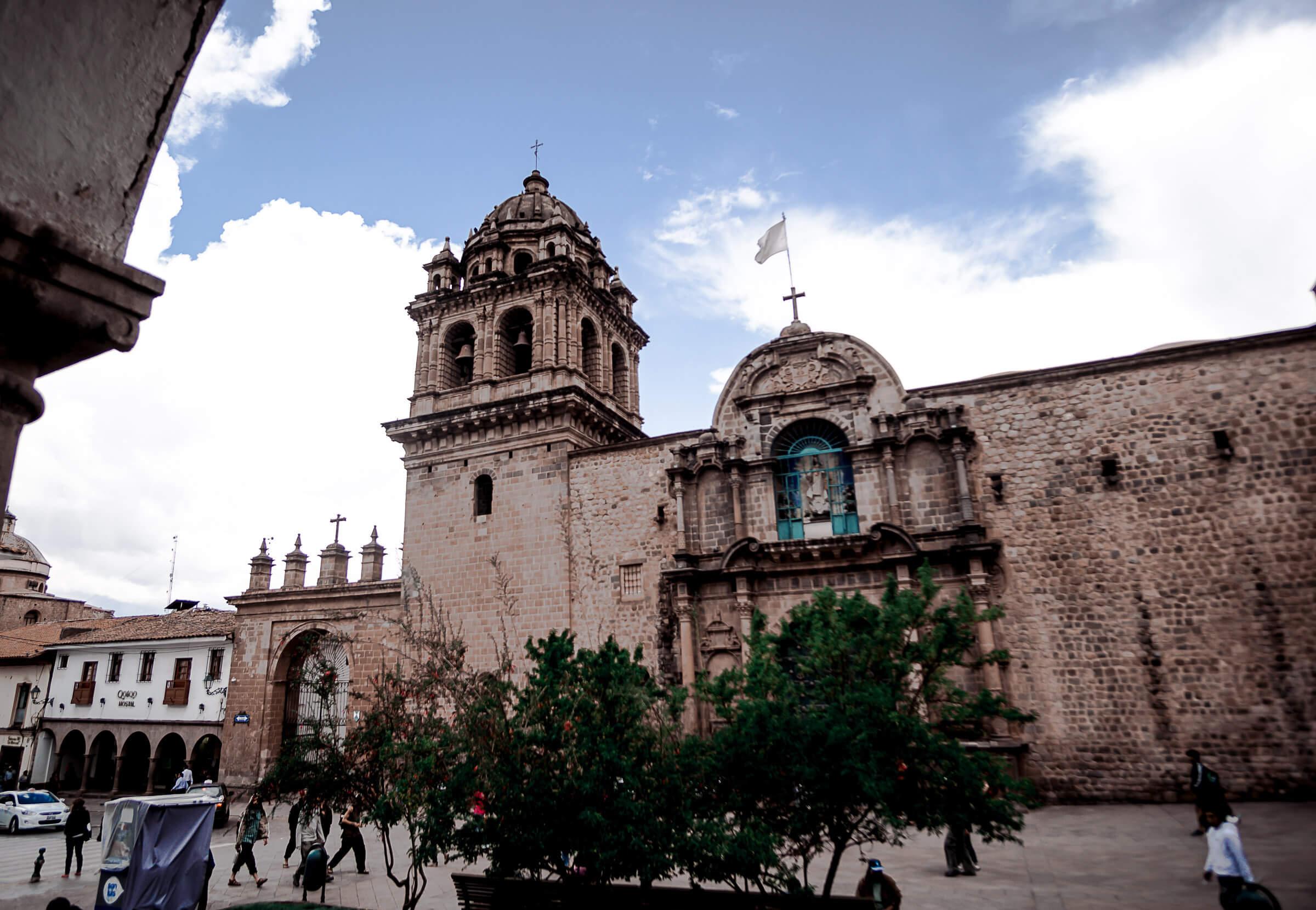 Peru Cusco Plasa de armas