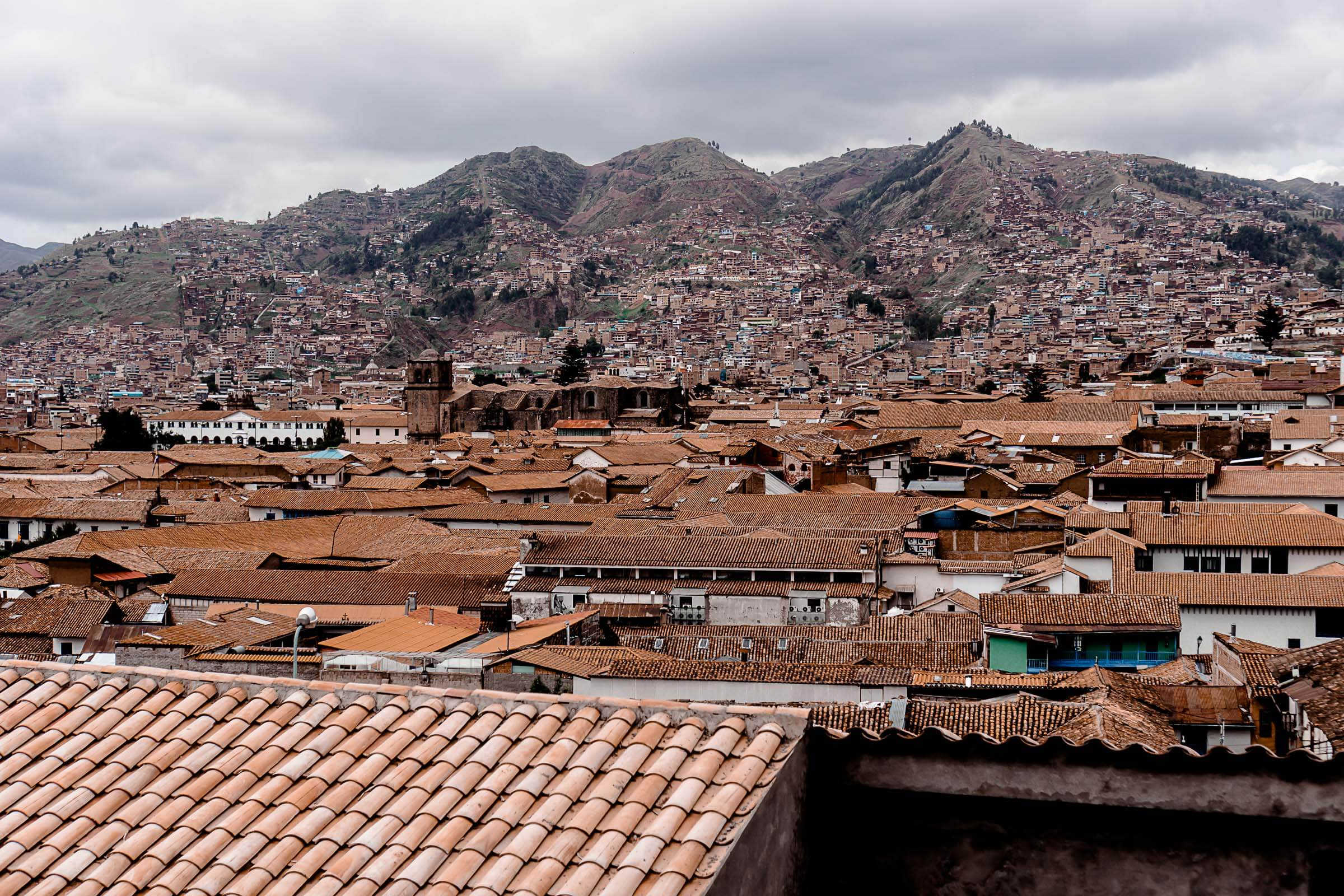 Cusco Peru City View