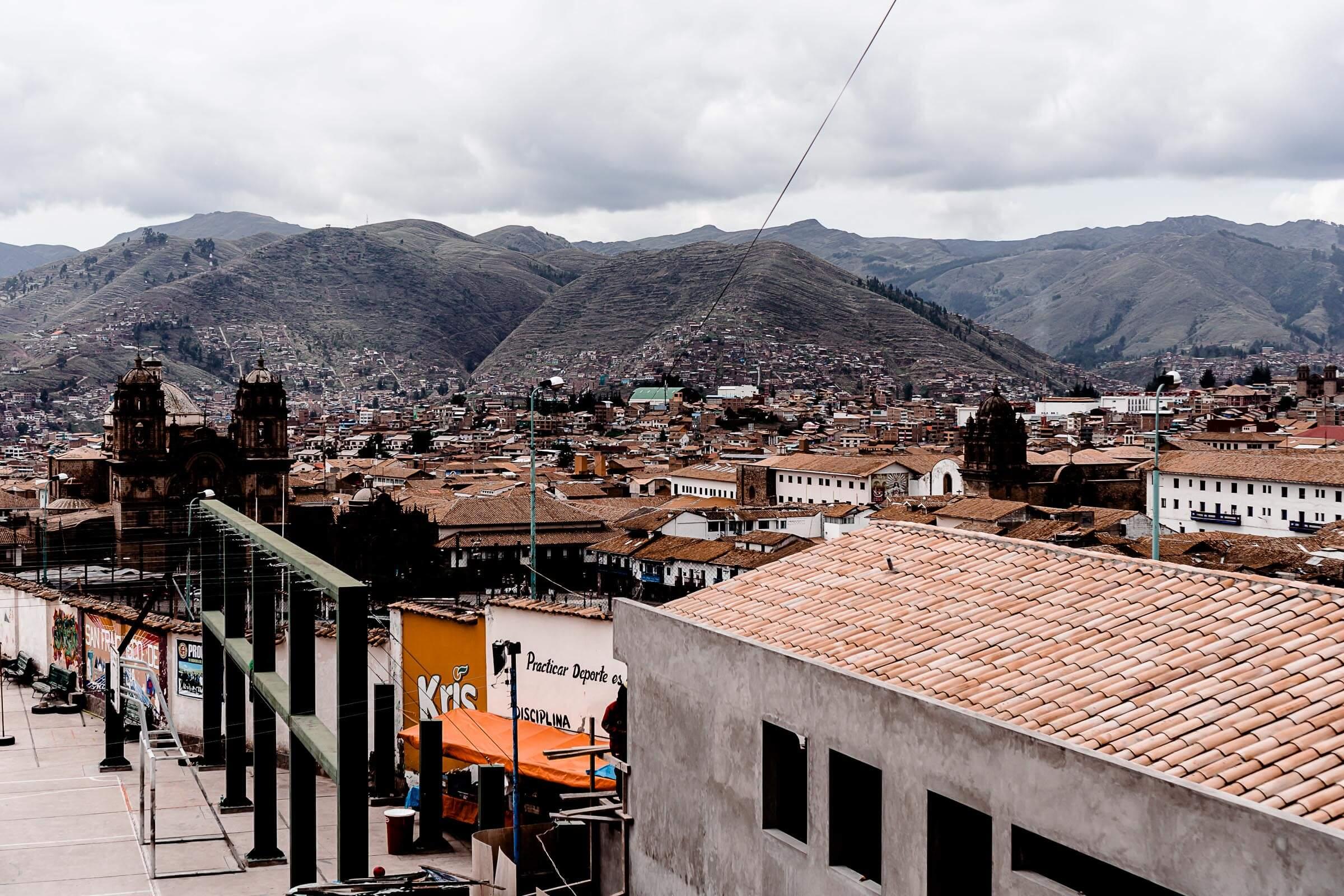 Straßen von Cusco Peru