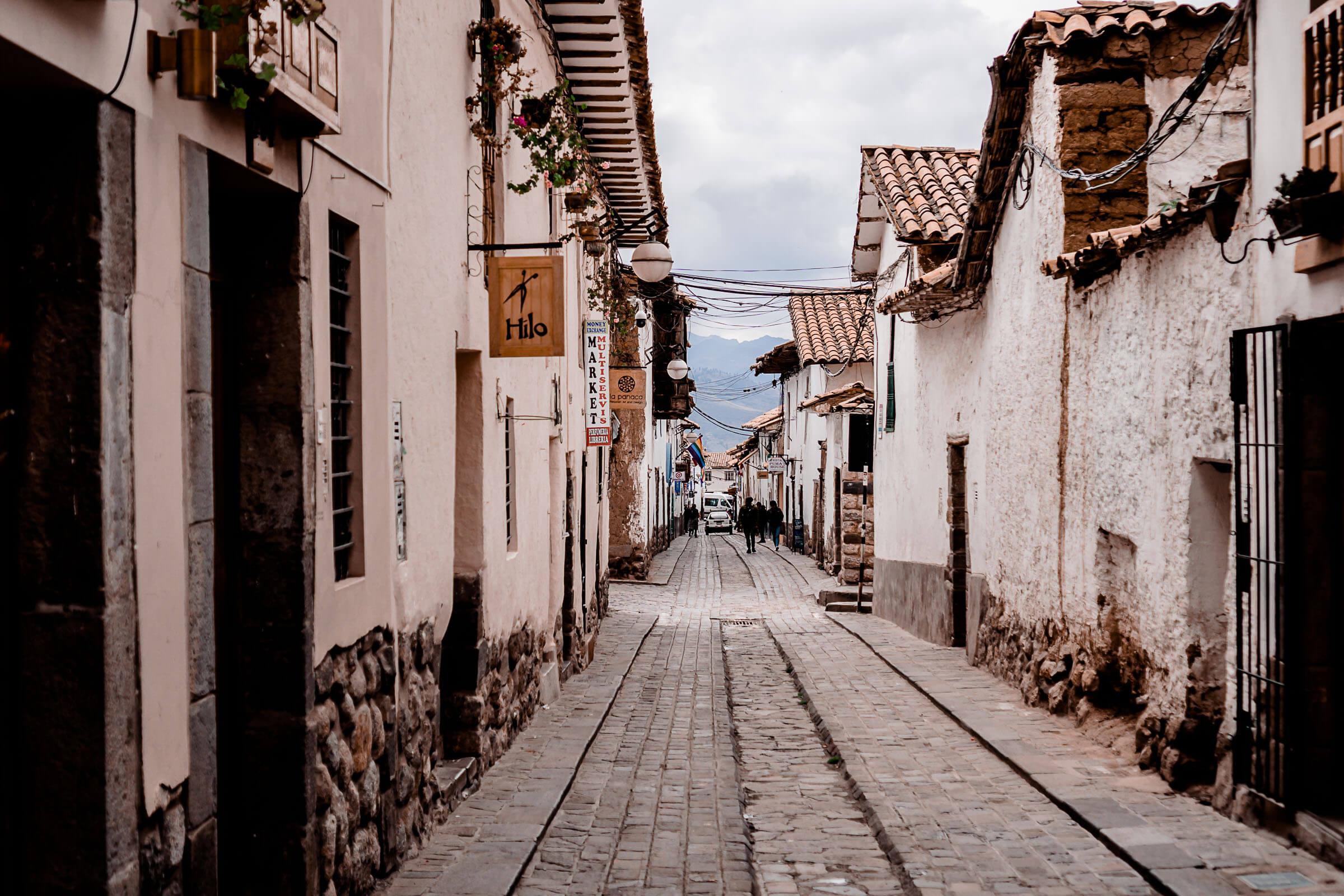 Cusco Barrio de San Blas