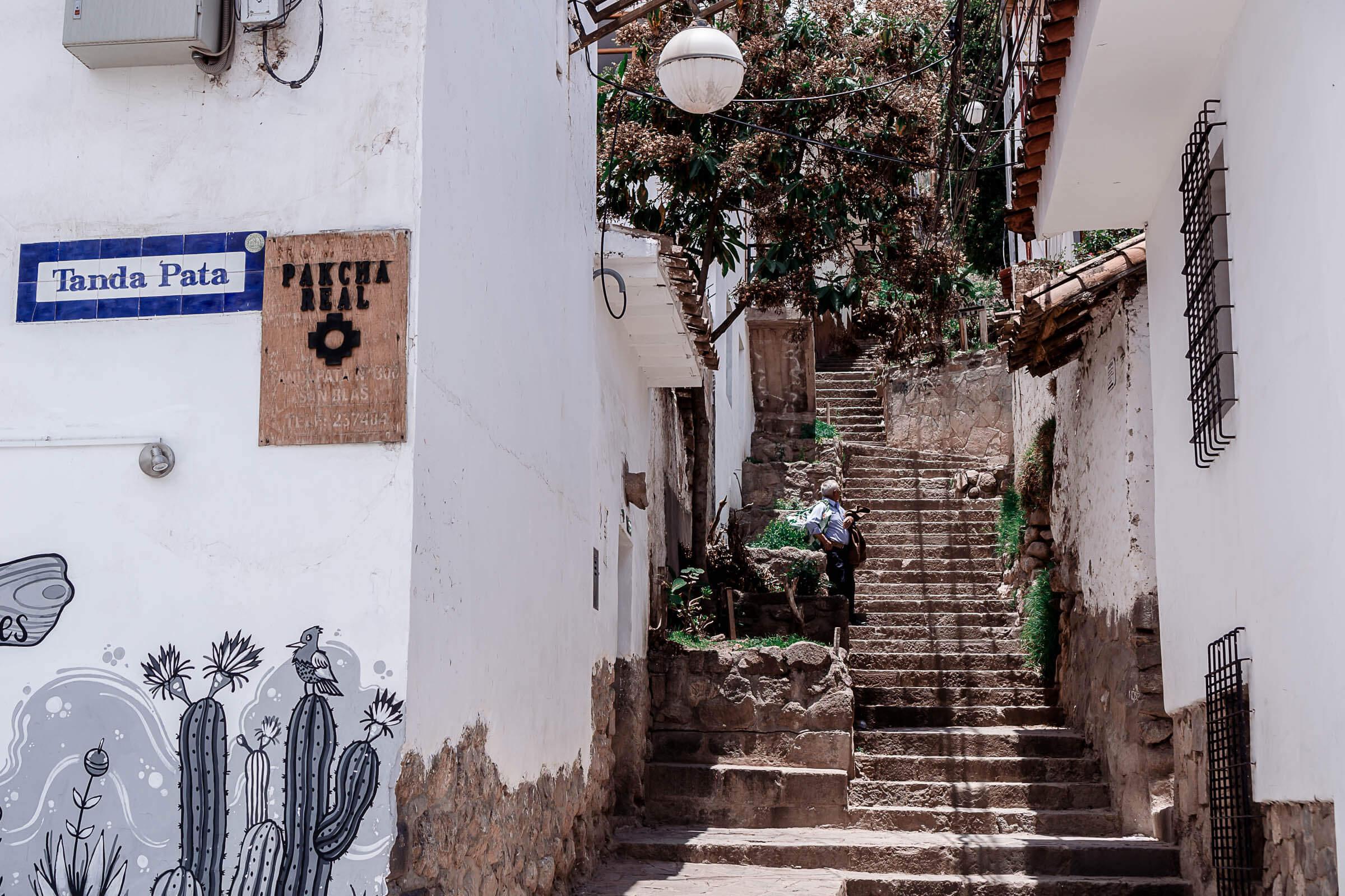 Straßen von Barrio de San Blas