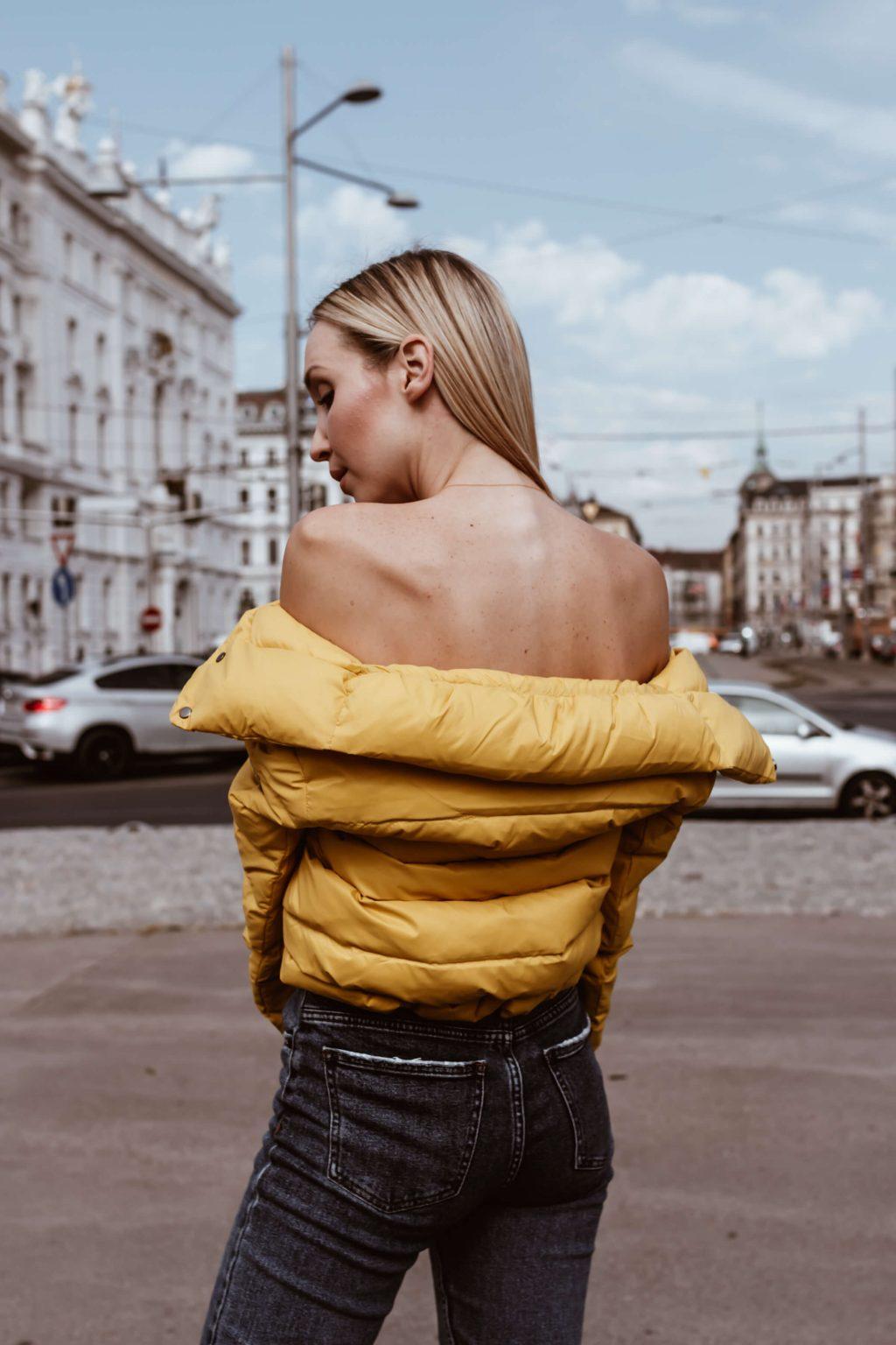 Modetrends Herbst Winter 2018 Daunenjacke