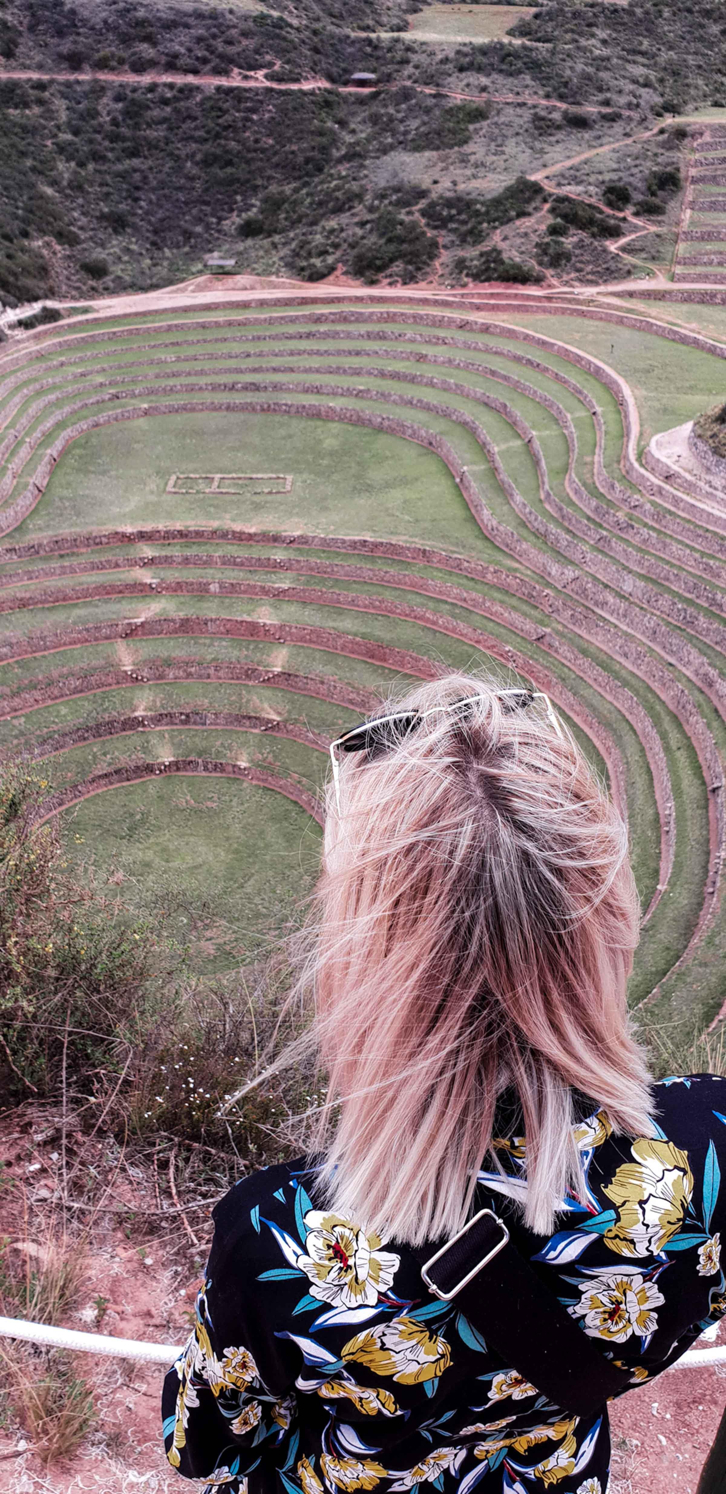 Moray besuchen Peru