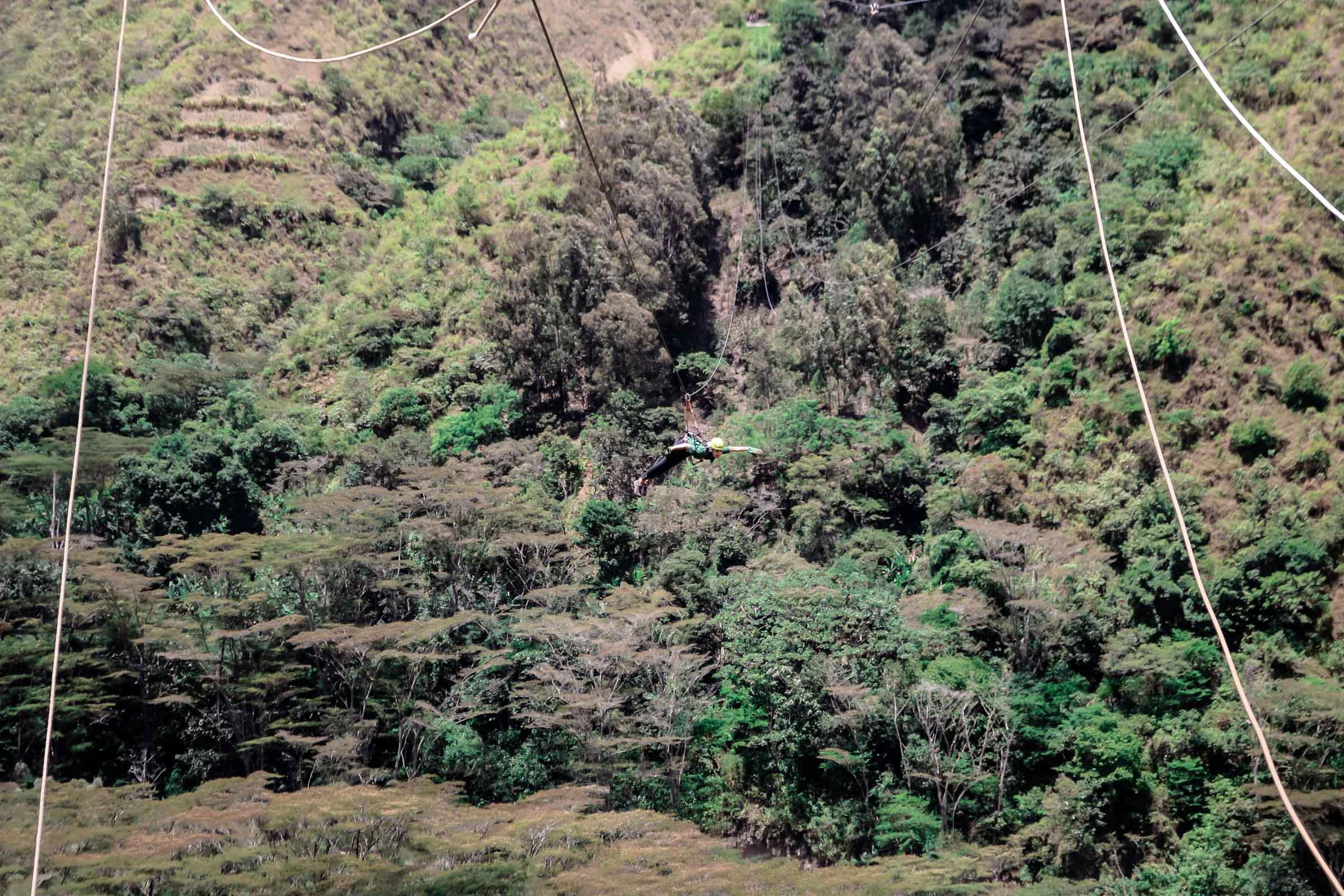 Zipline Vertikal Peru Erfahrung