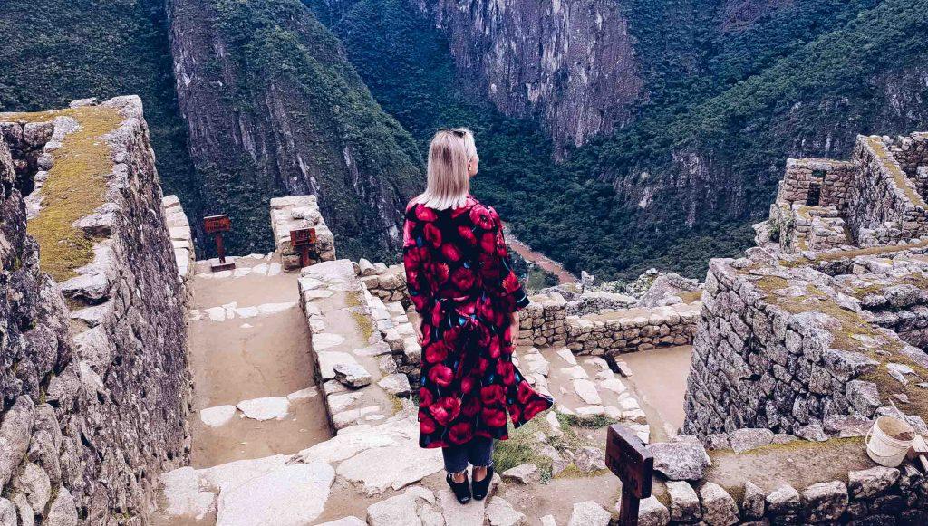 Machu Picchu Peru View