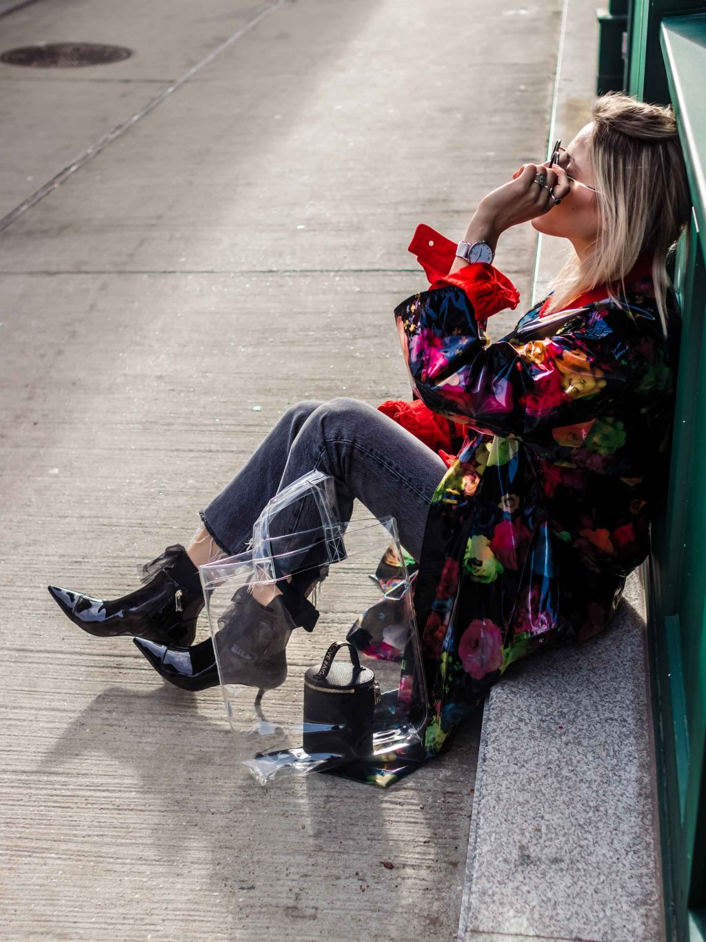 HOW TO STYLE TRANSPARENT SHOES AND BAGS