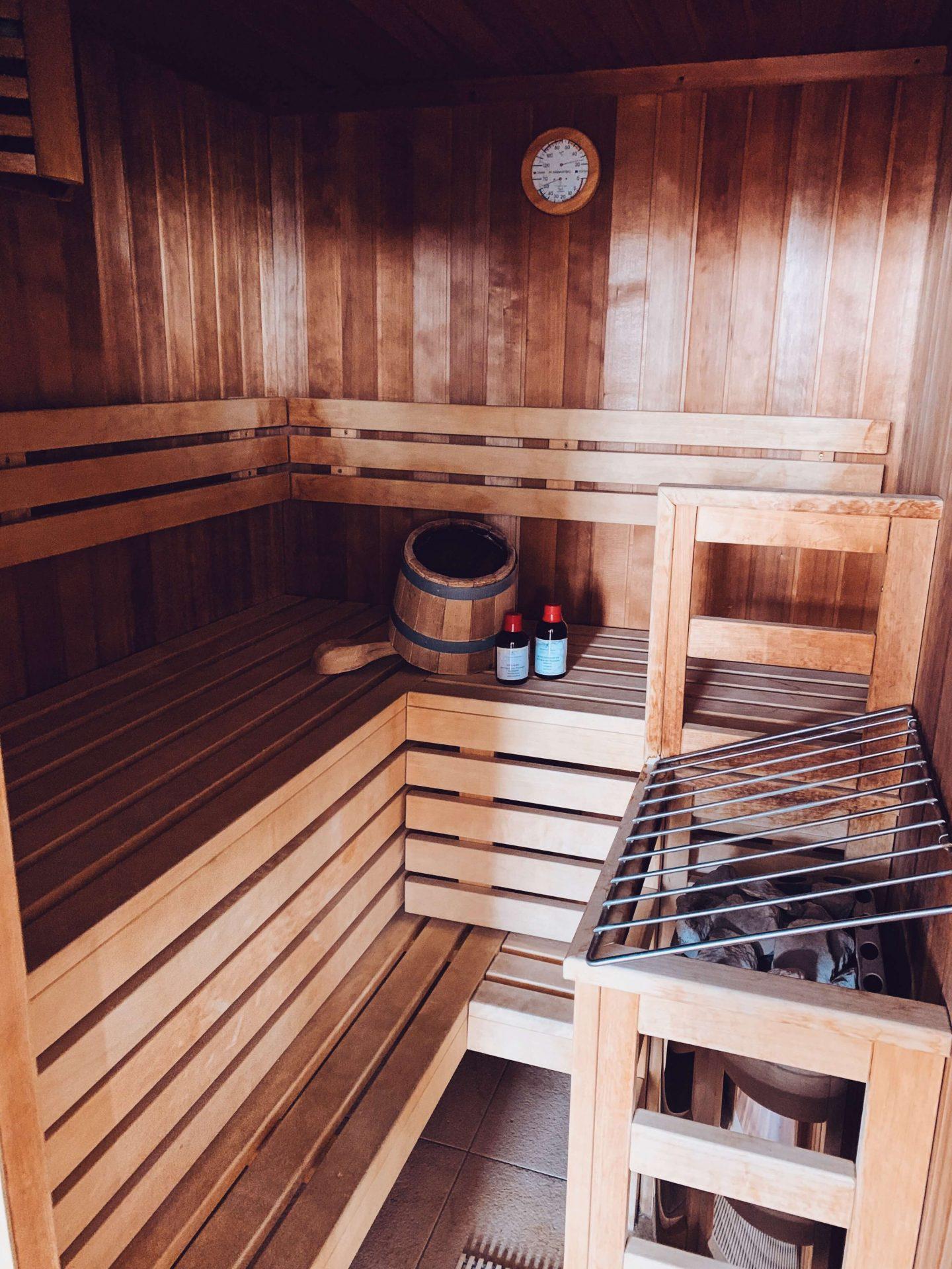 Falkensteiner Stegersbach Suite mit eigener Sauna