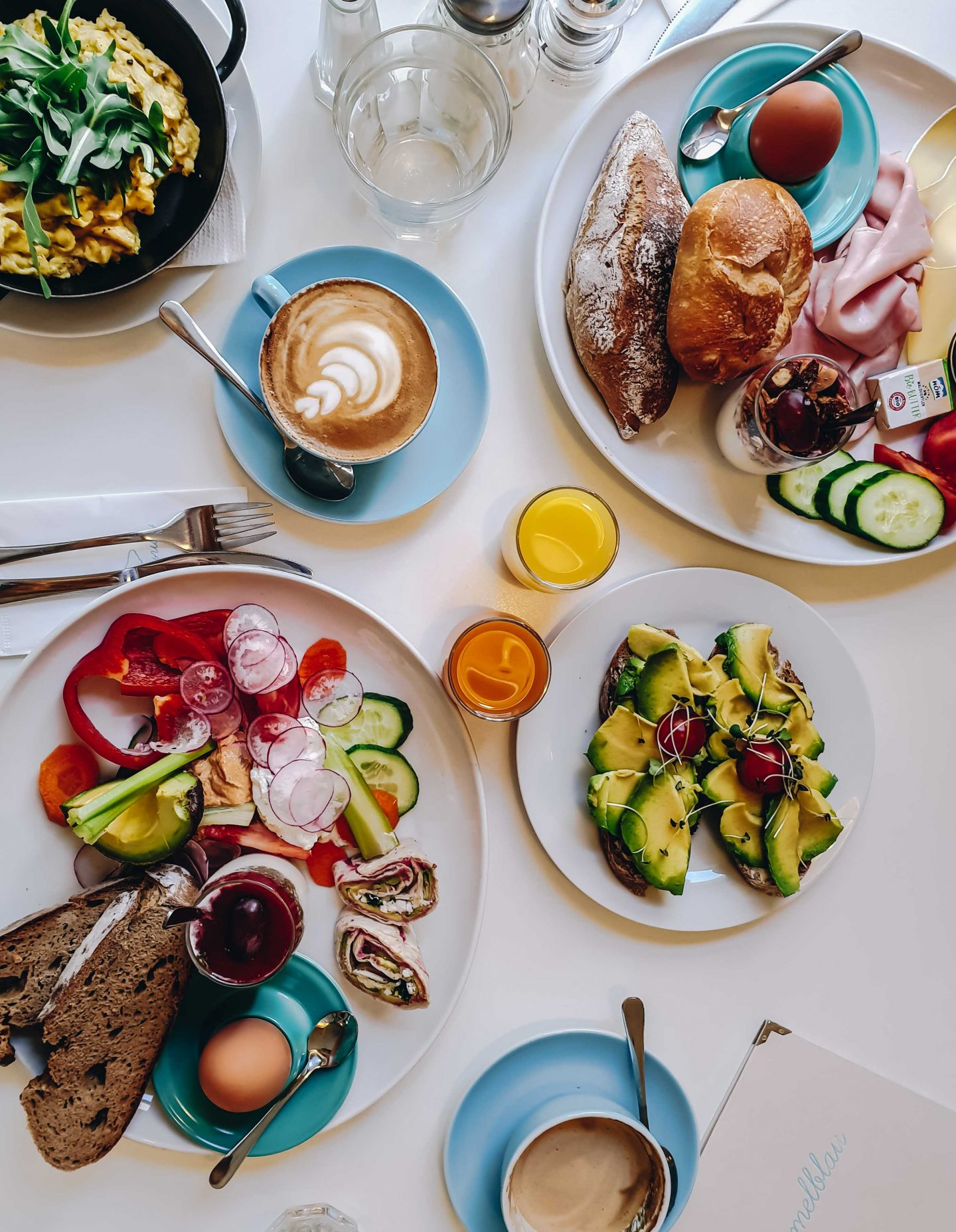 Himmelblau Frühstückslokal in Wien