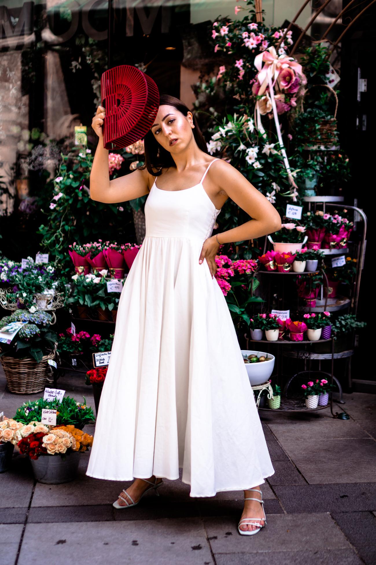 Trend 2019: Weiße Kleider