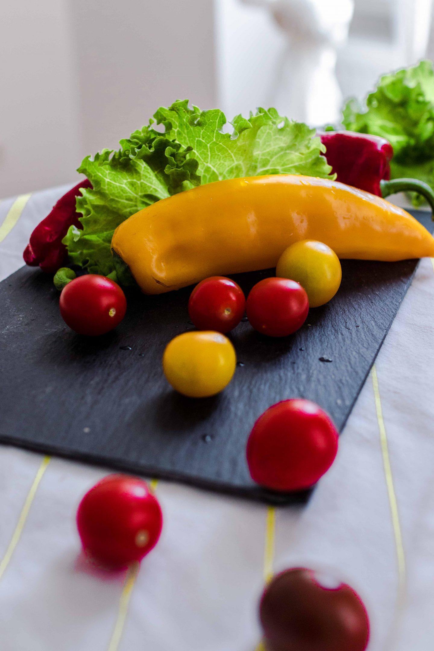 Schneller proteinreicher Salat