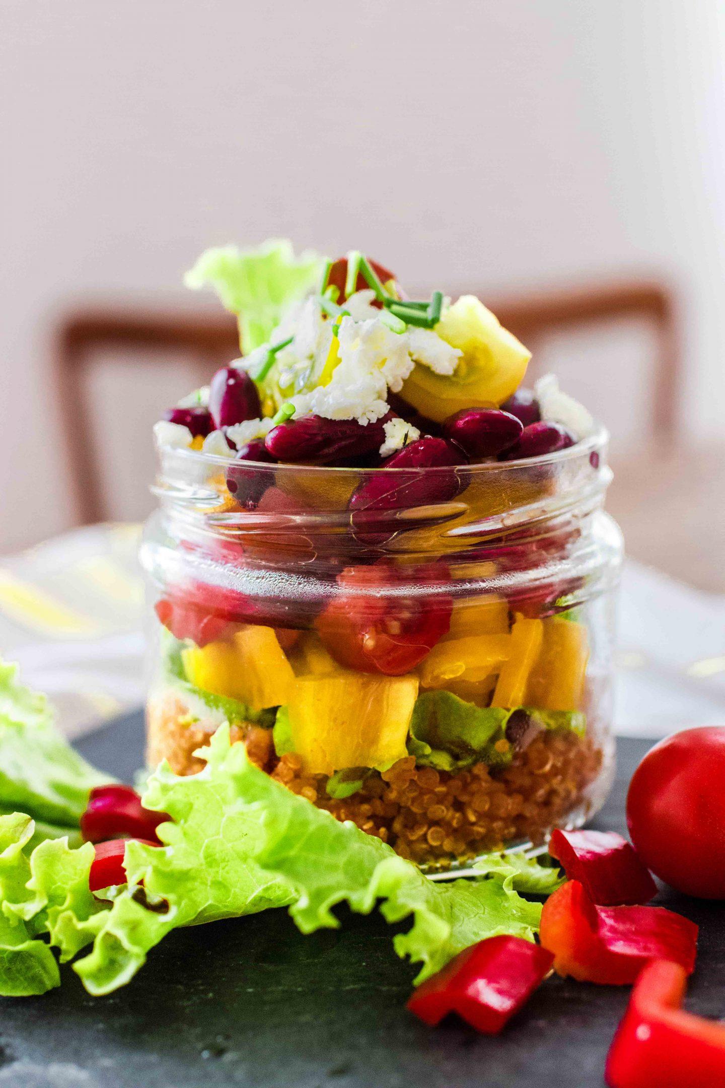 Leichte Sommersalate Rezept