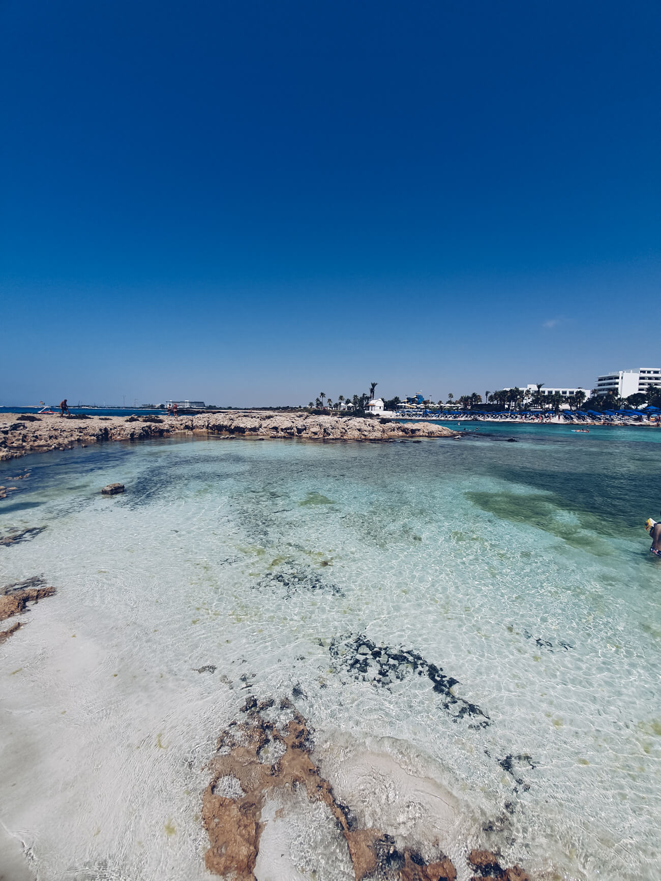Welcher Strand in Ayia Napa eignet sich gut für eine Familie?