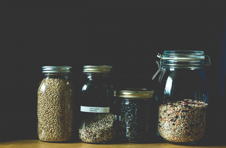 Quinoa Jar